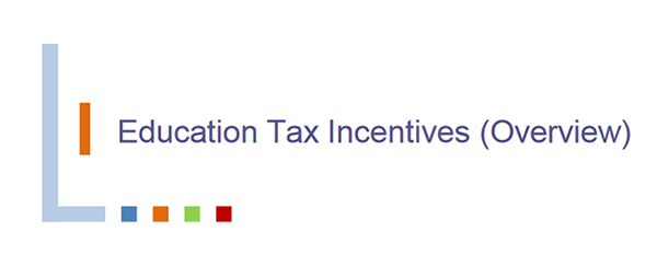 Education Tax Incentives