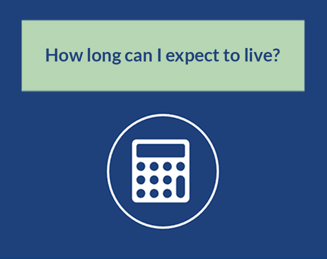 Financial Calculator: How long can I expect to live?